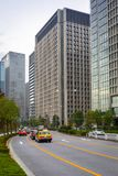 东京市街道  图库摄影