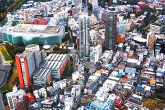 东京市视图 免版税图库摄影