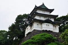 东京故宫,日本watertower  免版税库存照片
