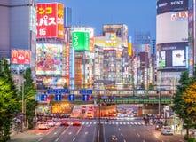 东京新宿站 免版税库存图片