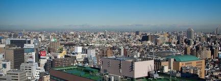 东京日本顶视图  库存图片