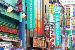 东京氖 图库摄影