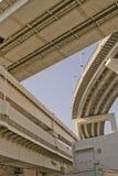 东京海湾,彩虹桥梁。 库存图片