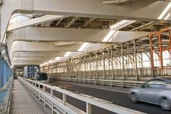 东京海湾,彩虹桥梁。 免版税图库摄影