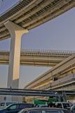 东京海湾,彩虹桥梁。 免版税库存照片