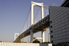 彩虹桥梁看法。 库存图片