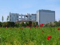 东京现代结构 库存照片
