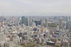 东京看法东京塔的 图库摄影