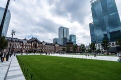 东京站,东京,日本火车站  免版税库存照片