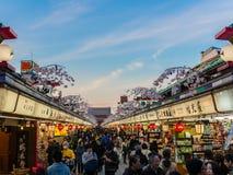 东京老日本 免版税库存照片