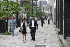 东京街道 免版税库存照片