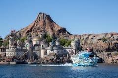 东京迪士尼海洋游乐园 库存照片
