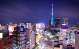东京都市风景 图库摄影