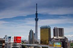 东京都市风景 免版税图库摄影