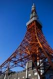 东京铁塔,东京,日本,冬天2012年 库存照片