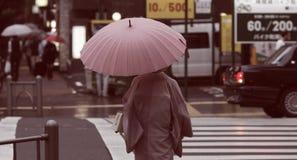 东京银座 免版税库存照片