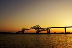 东京门桥梁 库存图片