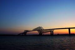 东京门桥梁 免版税库存图片