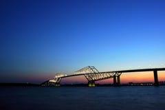 东京门桥梁 库存照片