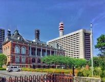 东京,日本美好的建筑学  库存图片