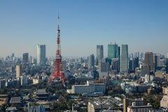 东京,日本都市风景  库存图片