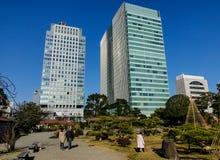 东京,日本都市风景  库存照片