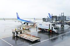 东京,日本- 2016年11月27日:所有日本管理的飞机Ai 免版税图库摄影