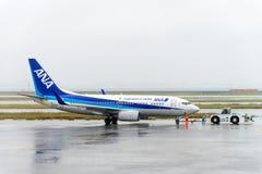 东京,日本- 2016年11月27日:所有日本管理的飞机Ai 库存图片