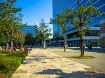 东京,日本2017年6月28日- :走近一个公园的未认出的人民在东京 库存图片