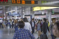 东京,日本- 2016年5月31日:东京地下铁 库存图片