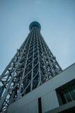 东京,日本2015年11月21日:东京天空树看法  库存图片