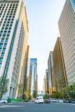 东京,日本- 2015年11月27日:交通在中间地区东京, Jap 库存图片