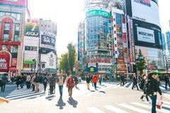 东京,日本- 11月2016 17日:新宿是一个东京的busine 库存照片