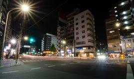 东京,日本- 2013年11月22日:街道生活在Sengoku区 库存图片
