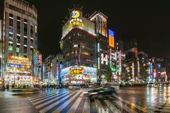 东京,日本- 2016年11月21日:Kabukicho地区在东京,亚帕 免版税图库摄影