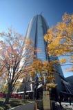 东京,日本- 2013年11月23日:Mori塔在六本木新城 免版税库存图片