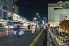 东京,日本- 2016年11月18日:Shijuku区 新宿是a 库存图片