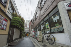 东京,日本- 2016年5月30日:Steert在东京,日本 东京是Th 库存照片