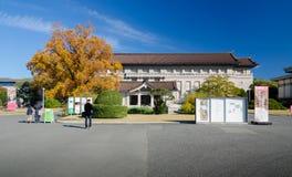 东京,日本- 11月22 :东京国立博物馆。最老和家神 免版税库存照片