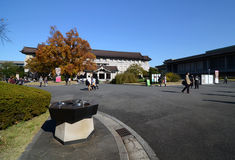 东京,日本- 11月22 :东京国立博物馆。最老和家神 免版税图库摄影