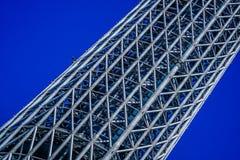 东京,日本- 5月13 :东京Skytree、一个著名东京塔和地标结构  库存图片