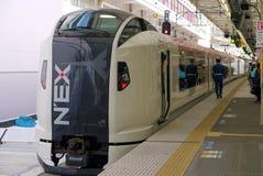 东京,日本-火车在东京,日本 库存照片