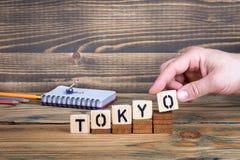东京,许多数百万人居住的一个城市在日本 免版税图库摄影