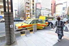 东京:出租汽车 免版税库存图片