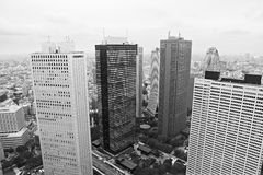 东京:都市风景 免版税库存图片