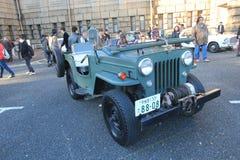 东京经典汽车节日在日本 免版税图库摄影