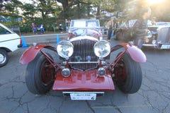 东京经典汽车节日在日本 免版税库存照片