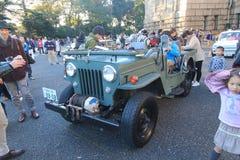 东京经典汽车节日在日本 免版税库存图片