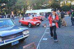东京经典汽车节日在日本 图库摄影