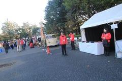 东京经典汽车节日在日本 库存图片